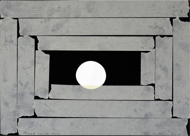 , 'Mond am Mittag,' 2009, Christine König Galerie