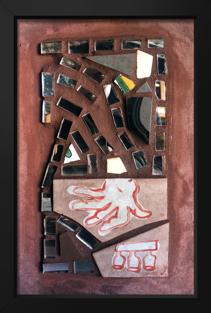 Isaiah Zagar, 'Hand and Bottle Art ', 2018, Philadelphia's Magic Gardens