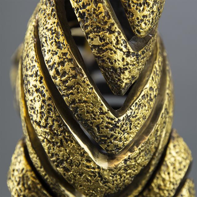 Jiang Tiefeng, 'Jiang Golden Bronze Zebra Bronze Sculpture Contemporary Art', 1990-2010, Sculpture, Bronze, Modern Artifact