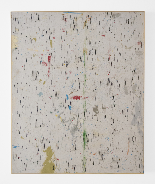 Gerald Ferguson, 'No. 14', 2003, Painting, Enamel on drop cloth, FRED.GIAMPIETRO Gallery