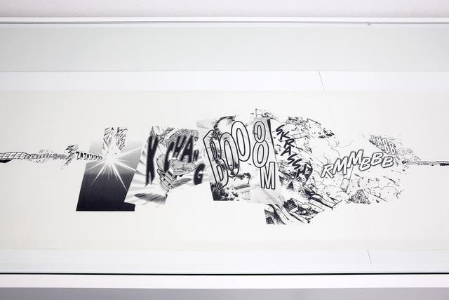 , 'Manga Scroll (Detail),' 2010, Kunstraum Innsbruck