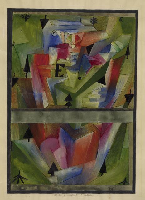 , 'Paysage près de E. (en Bavière),' 1921, Centre Pompidou