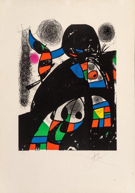 Joan Miró, 'San Lazzaro et ses amis', 1975, Heritage Auctions