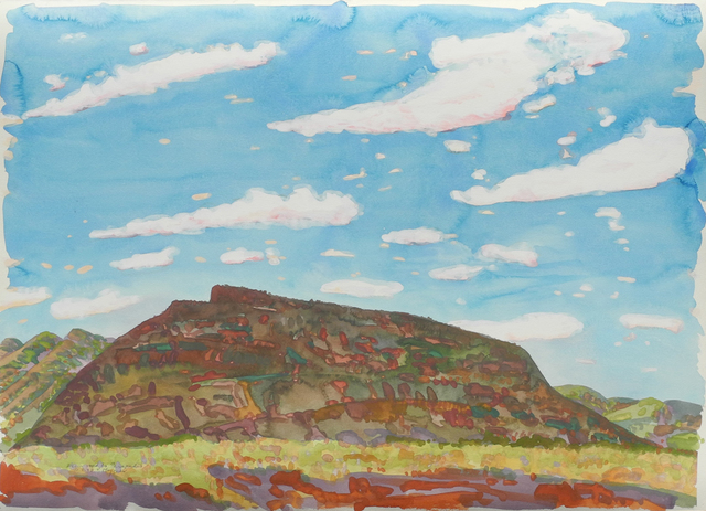 , 'From Road to Paraburdoo,' 1990, Charles Nodrum Gallery