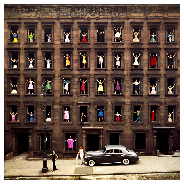 , 'Girls in the Windows, New York,' 1960, Staley-Wise Gallery