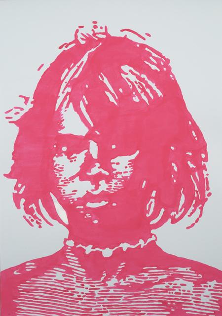 , 'Aboriginal Girl,' 2014, Galerie pompom