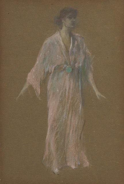 , 'Standing: Mauve Kimono No. 21,' 1911, Davis & Langdale Company, Inc.