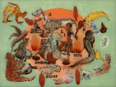 , 'Alice Thru The Looking Glass (Copper Brain Map),' 2011, Arario Gallery