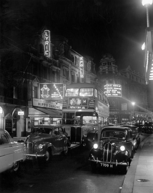 , 'Street Night ,' 1954, Getty Images Gallery