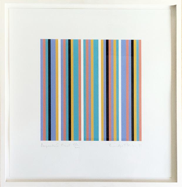 Bridget Riley, 'Serpentine print', 1999, Fairhead Fine Art Limited