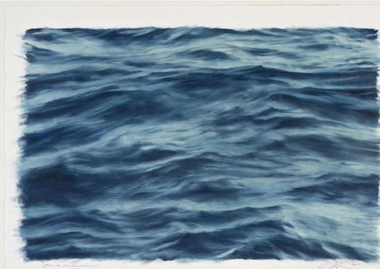 Clifford Smith, 'Study for Blue Ocean Field VII', 2010, Gerald Peters Gallery
