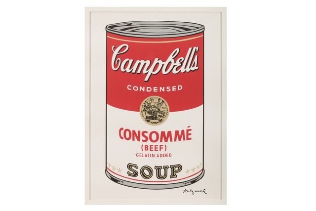 Andy Warhol, 'Campbell's Soup - Consomme', Chiswick Auctions