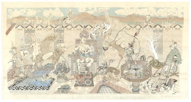 , 'Hortus Conclusus, Peter Depelchin,' 2014, Light Cube Art Gallery