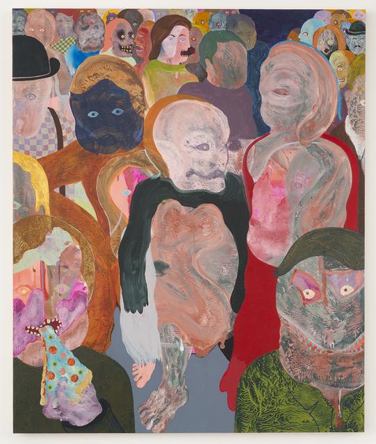 , 'Nocturnal Street Scene,' 2017, Joshua Liner Gallery