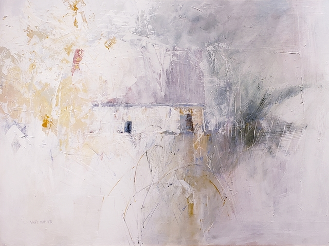 Bernie White Hatcher, 'Winter Blur', Springfield Art Association