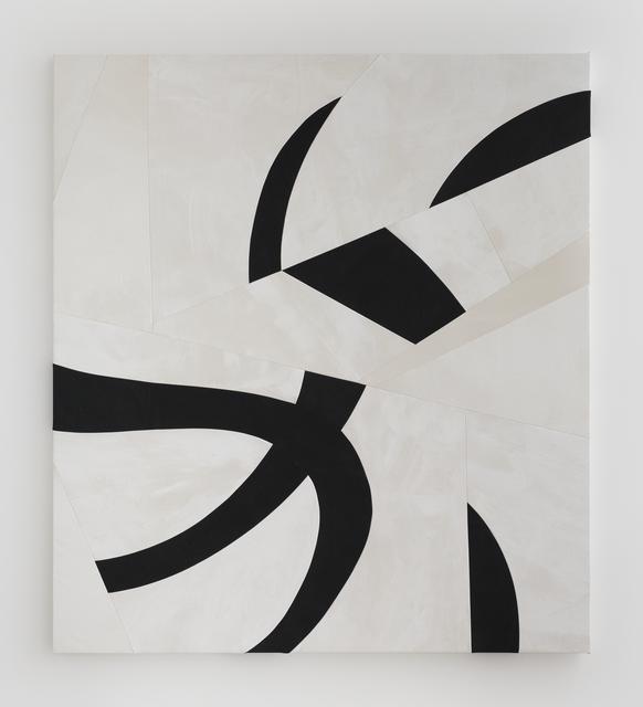 , 'Sliced Black Form,' 2015, Simon Lee Gallery