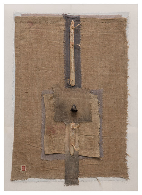 , 'Linen protective assemblage,' 2015, Nitra Gallery