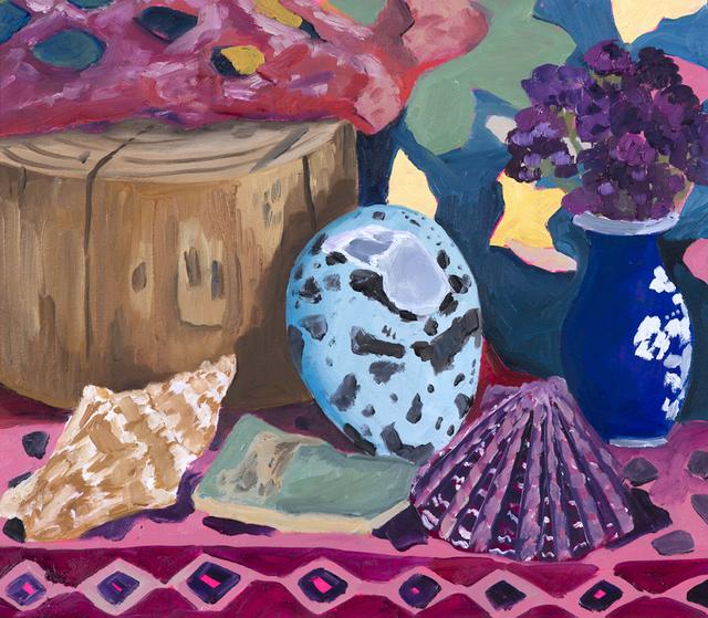 , 'Specimens on Shelf,' 2017, parts gallery