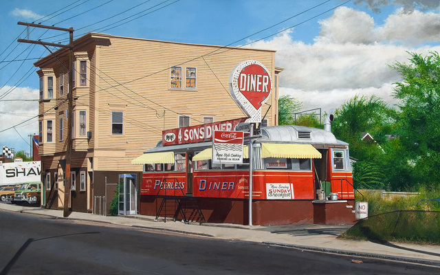 John Baeder, 'Peerless Diner', 2007, Jonathan Novak Contemporary Art