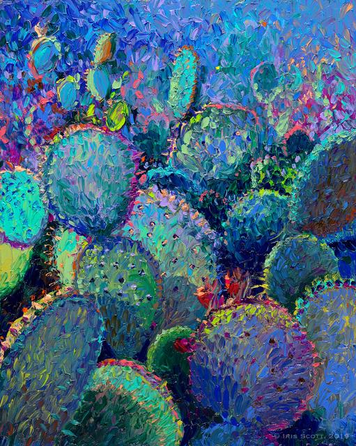 Iris Scott, ' Cactus Refractus', 2018, Filo Sofi Arts