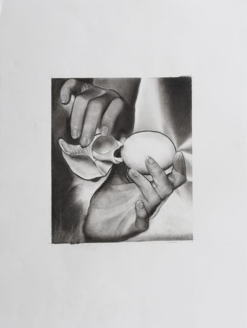 , 'Not Man Ray, Solarized Egg,' 2016, Robert Berman Gallery
