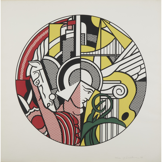 Roy Lichtenstein, 'The Solomon R. Guggenheim Museum Poster', 1969, Freeman's