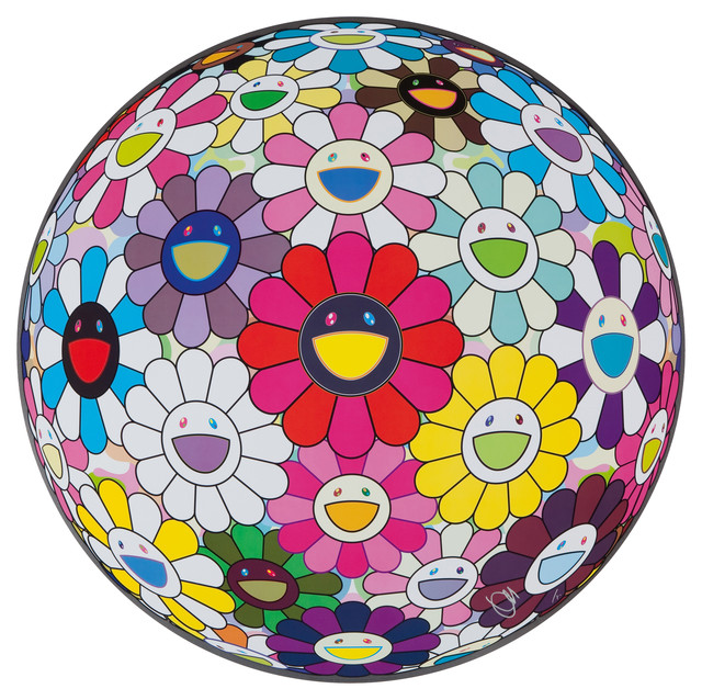 Takashi Murakami, 'Flowerball: Open Yours Hands Wide', 2016, Lougher Contemporary Gallery Auction