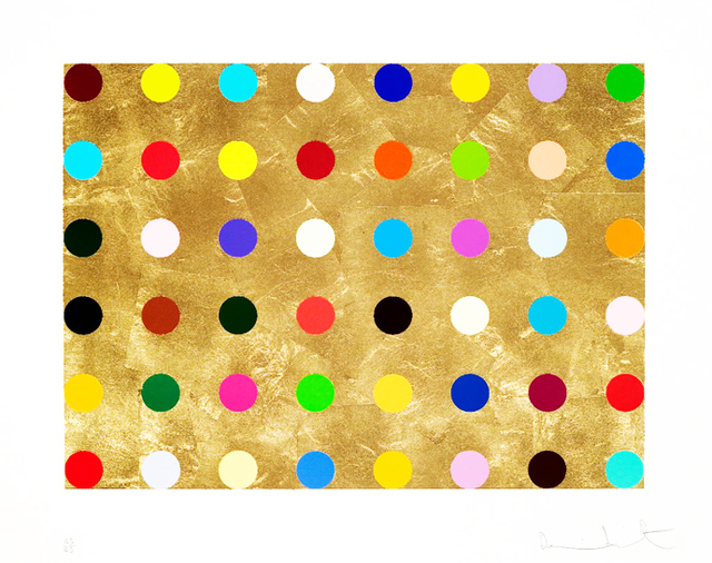 Damien Hirst, 'Gold Thioglucose', 2008, Vogtle Contemporary