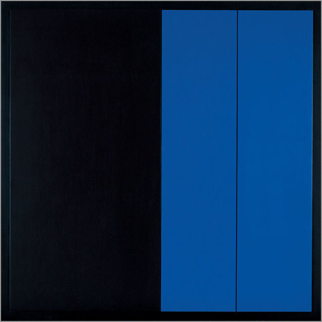 , 'Black and Blue Surface,' 1977-1978, Cortesi Gallery