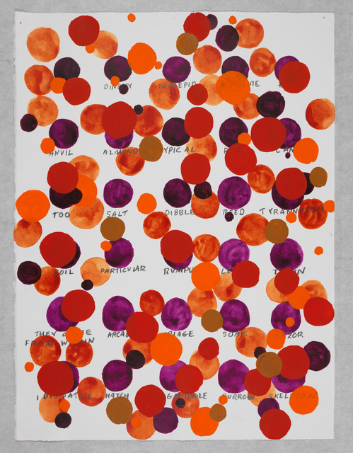 , 'Remembered Words—(Particular),' 2013, Galleria Raffaella Cortese