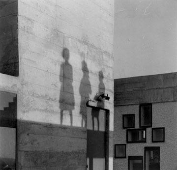 Lucien Hervé, 'Nantes - Rézé', 1953, Photography, Vintage gelatin silver print, cropped to size by the artist, Michael Hoppen Gallery