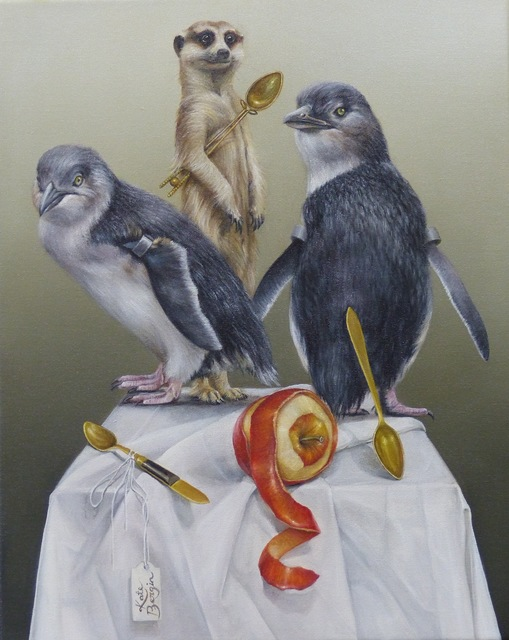 , ' The Watchers,' 2015, Mossgreen Gallery