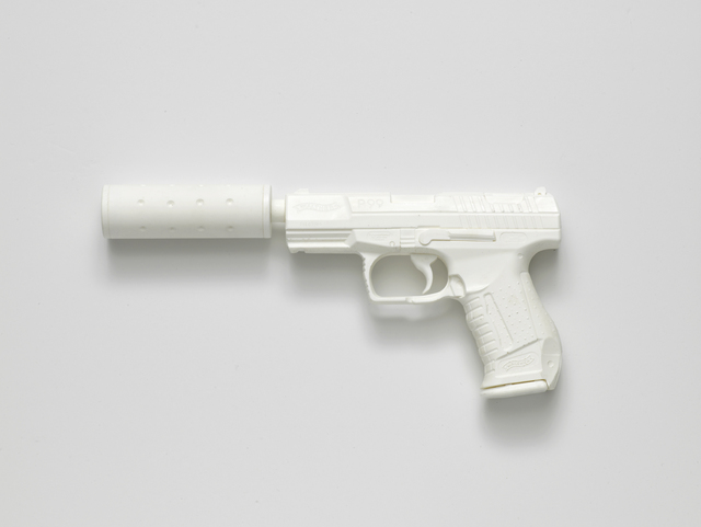 , 'Walther P99 with Silencer (from the series Painkillers II),' 2015, l'étrangère