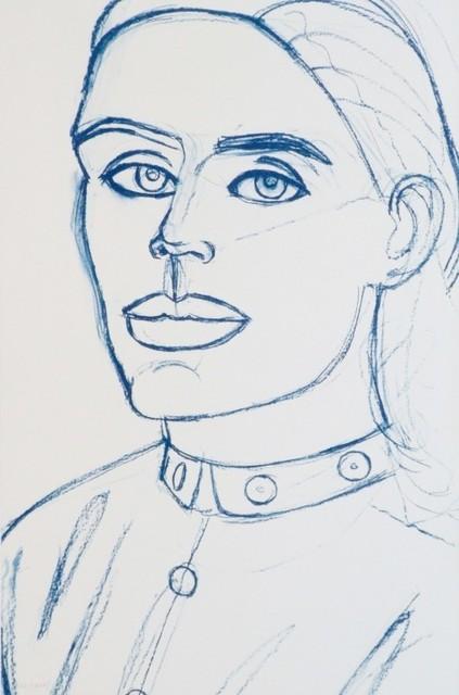 , 'Kate (White and Blue),' 2006-2007, Jim Kempner Fine Art