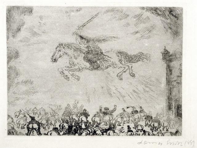 , 'Exterminating Angel,' 1889, Harris Schrank Fine Prints