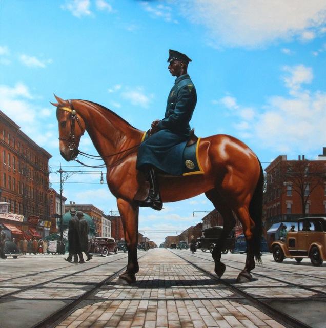 , 'Harlem Equus,' 2014, RJD Gallery