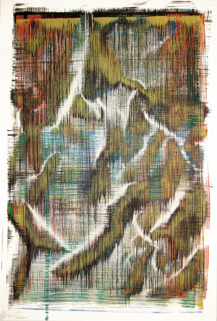 Sergio Barrera, 'Antigesture (rhizomes). P8', 2018, Painting, Acrylic on Canson paper, SET ESPAI D'ART
