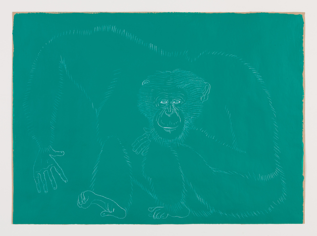 , 'Autorretrato con pulgares oponibles, 6,' 2014, kurimanzutto