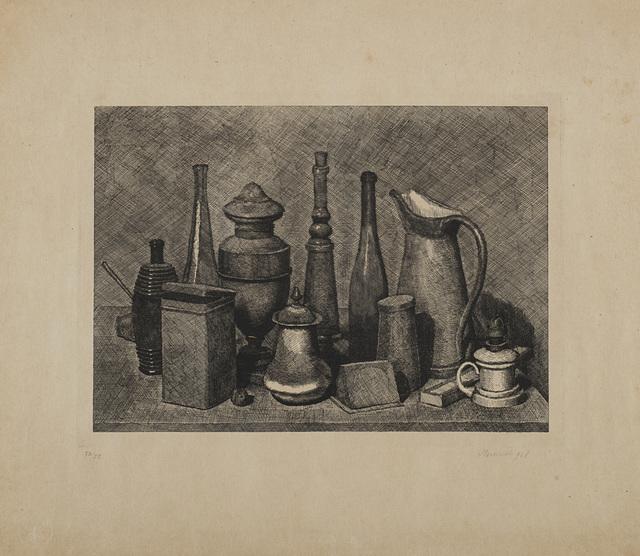Giorgio Morandi, 'Grande natura morta con la lampada a destra', 1928, Repetto Gallery