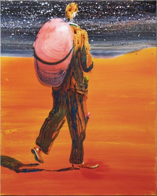 , 'Walking about problems,' 2018, Galleri Bo Bjerggaard