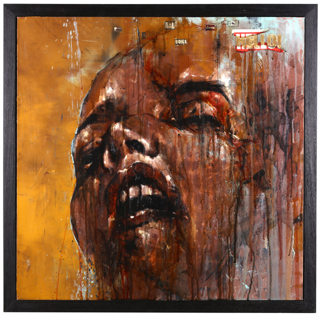 Guy Denning, 'What It All Boils Down To', 2011, Mixed Media, Mixed media on canvas, Chiswick Auctions