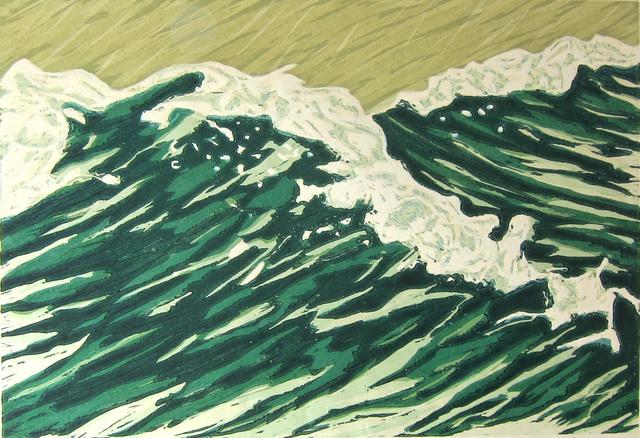 , 'White Caps,' 1987, Albert Merola Gallery