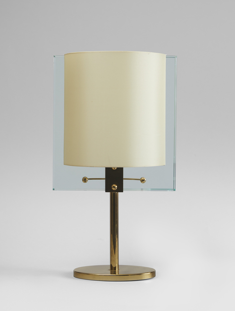 Fontana Arte, 'A glass and brass table lamp', ca. 1960, Galerie Hervouet