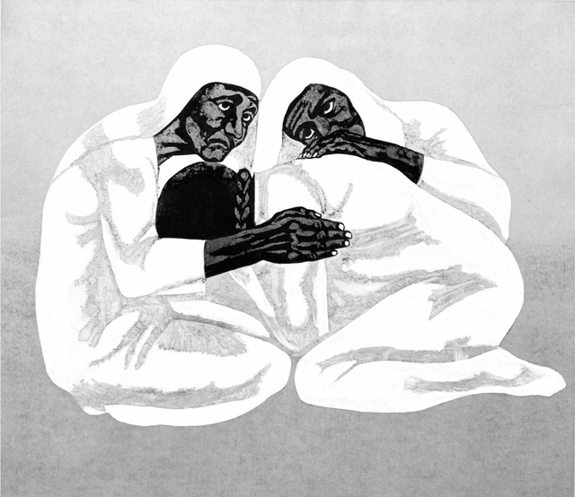 , 'Loss (Sabra and Shatila Series),' 1986, Hafez Gallery