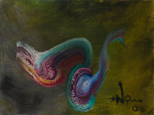 Ismail Gulgee, 'color composition ', 2000-2002, Painting, Oil on canvas, Eye For Art Houston
