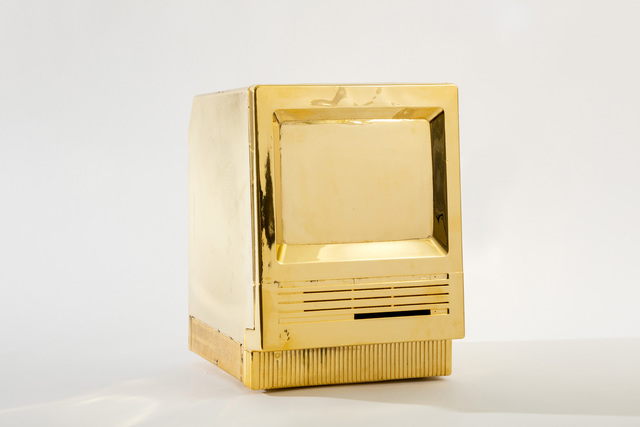 , 'My First Gold Mac,' 2016, Woodward Gallery