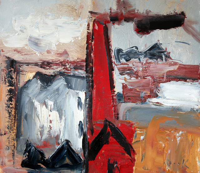 , 'Study in Grey and Red,' , The Scottish Gallery