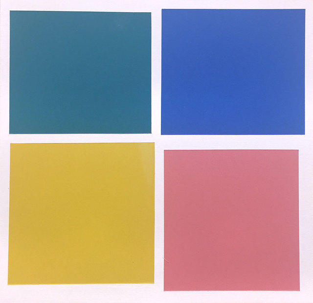 """Tom McGlynn, 'Study for """"Small Square Standard 2""""', 2018, Rick Wester Fine Art"""