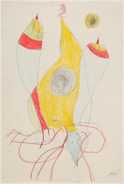 Joan Miró, 'Femme', 1977, Galería Daniel Cardani