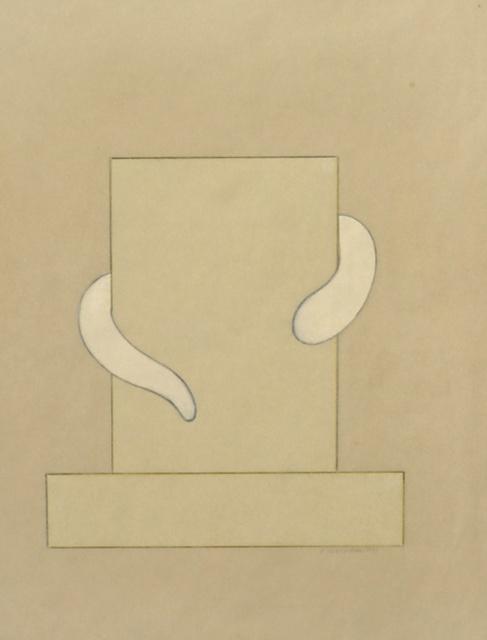 , 'Grabstele [Tombstone],' 1973, Richard Saltoun